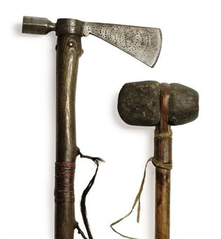 stone tomahawk and regular tomahawk