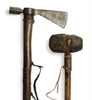 stone tomahawk and regular tomahawk